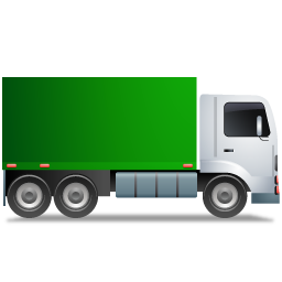 Truck--Green-icon