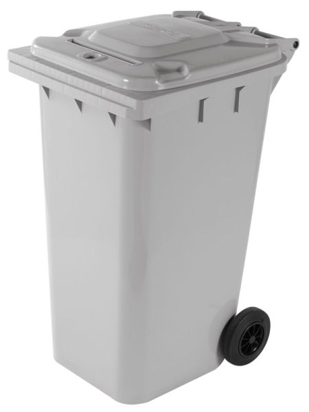 Document shredder cart, white, wheeled