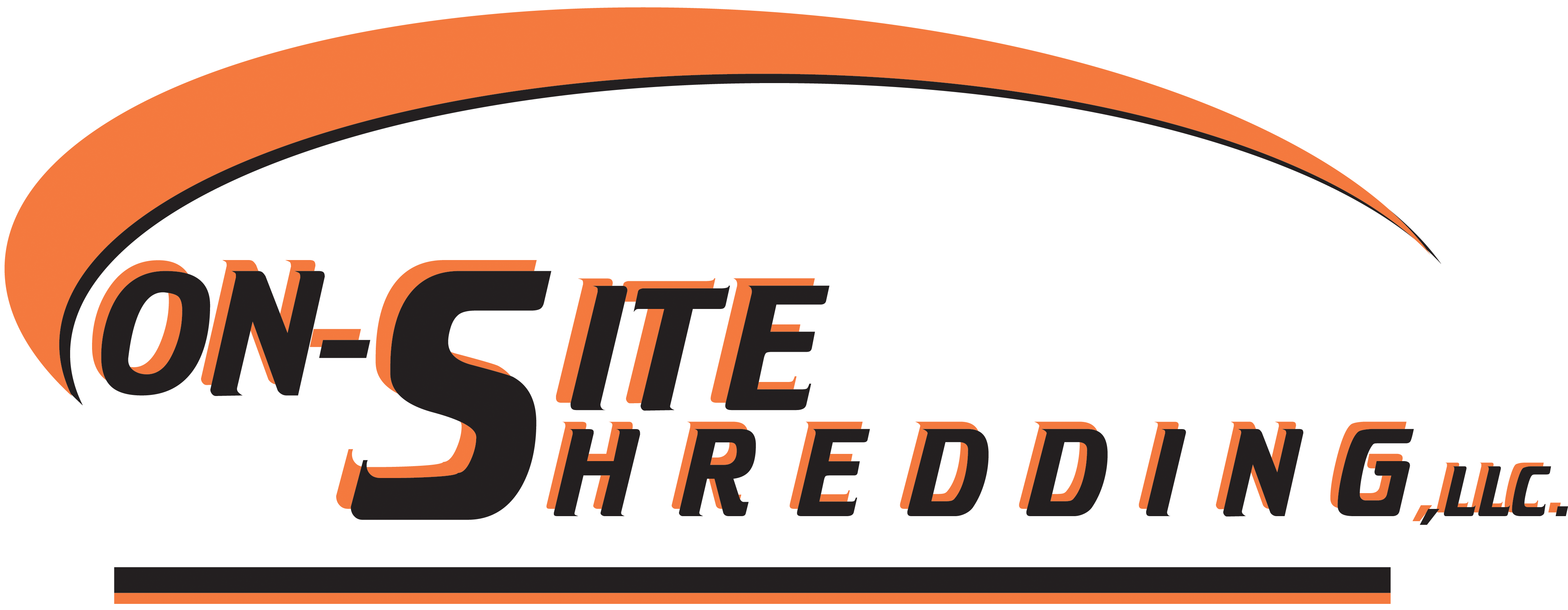 On-Site Shredding Logo 2011